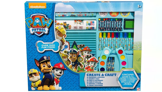 Compare prices for 1000-Piece Paw Patrol-Themed Crafts Set