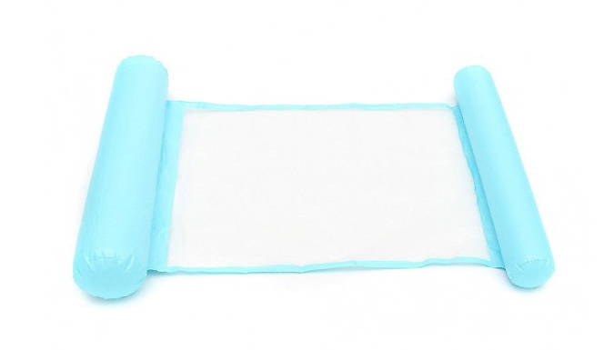 Foldable Swimming Pool Lounger - 3 Colours