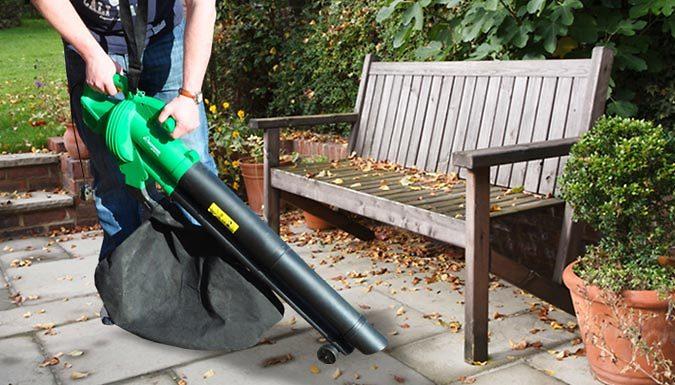 6-in-1 Garden Leaf Blower