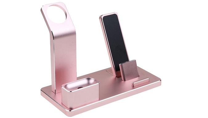 4-in-1 Charging Station for Apple Watch, iPhone & Airpods - 3 Colours cheapest retail price
