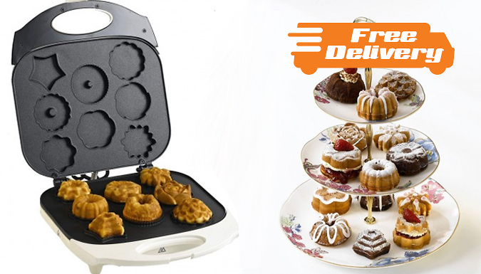 Assorted 8Plate Cupcake Maker  Free Delivery!