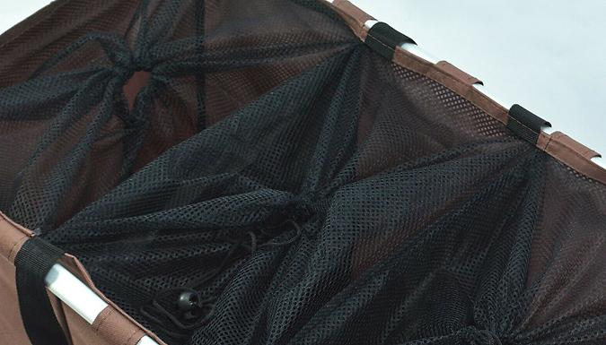 Large 3-Section Laundry Basket