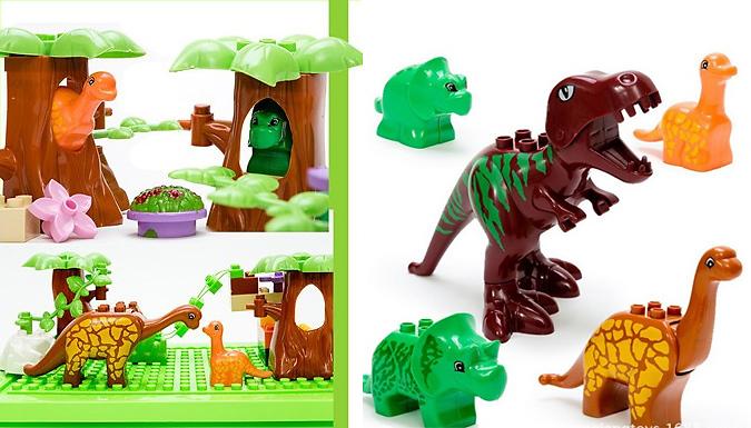 40-Piece Dinosaur Building Blocks Set from SecretStorz
