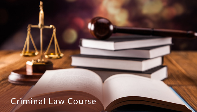 Online Criminal Law Course
