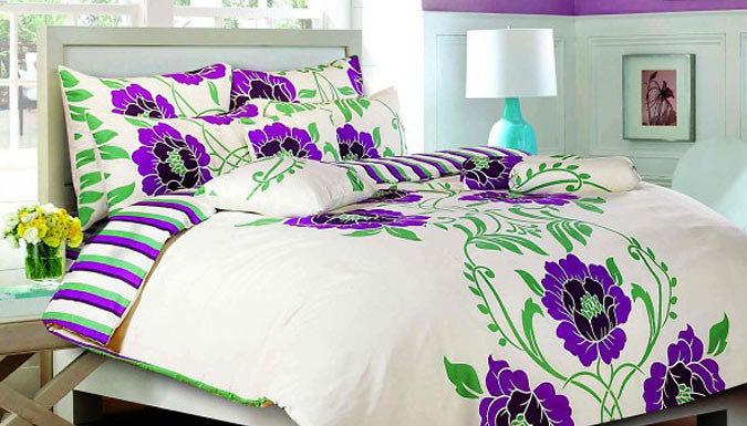 Shelly Duvet Bedding Set  2 Colours