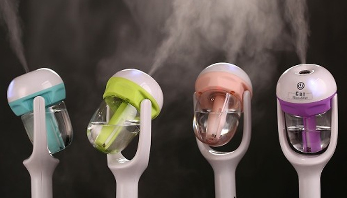 Car Aromatherapy Humidifier  4 Colours