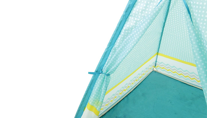Compare retail prices of Zig-Zag Design Kids Teepee Tent to get the best deal online
