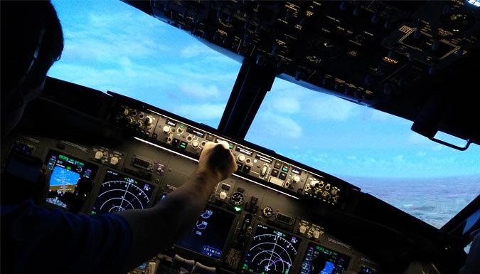 30 or 60-Minute Boeing 737 Flight Simulator Experience - Jet Sim School, Peterborough