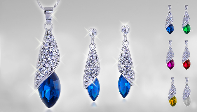 Renata Necklace and Earrings Set