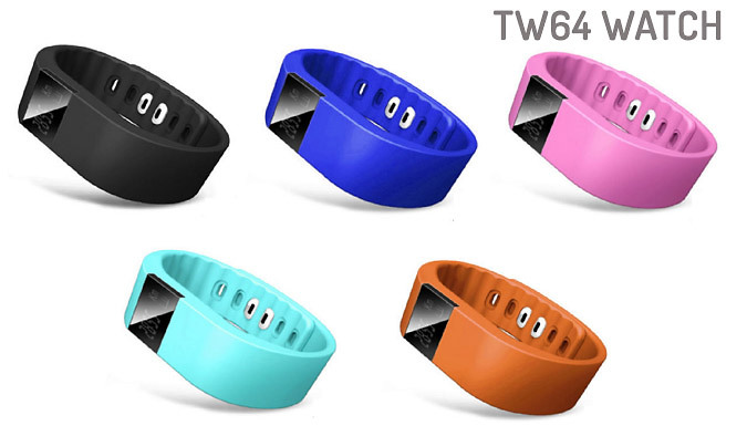 Next Gen TW64 Bluetooth Activity Bracelet  - 2 Models