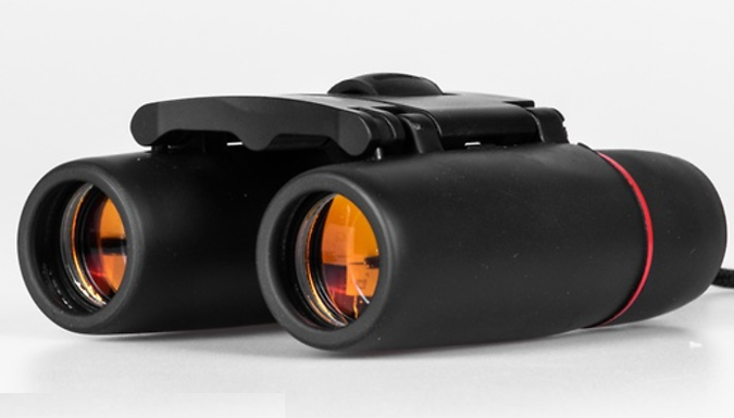 Day & Night Vision Folding Binoculars - 1000m Range!