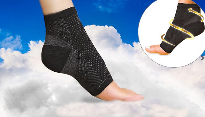 Compare retail prices of 'Foot Guardian' 7-Point Compression Socks - 4 Sizes to get the best deal online