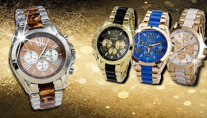 Unisex Geneva Watch - 4 Colours