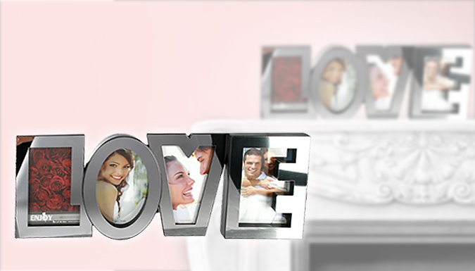 'Love' Letter Picture Frame