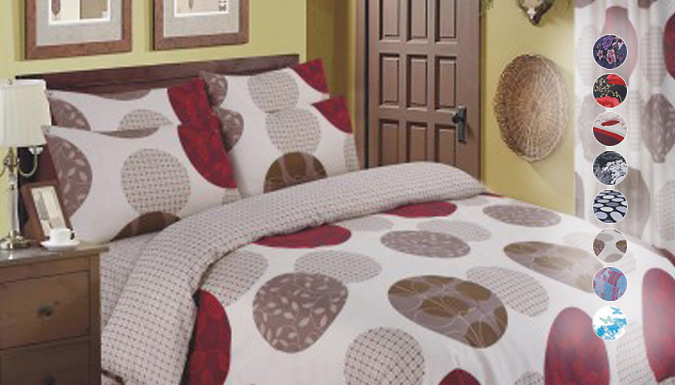 DDDeals - 4-Piece Printed Bedding Set