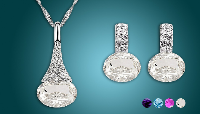 Pendulum Necklace Set