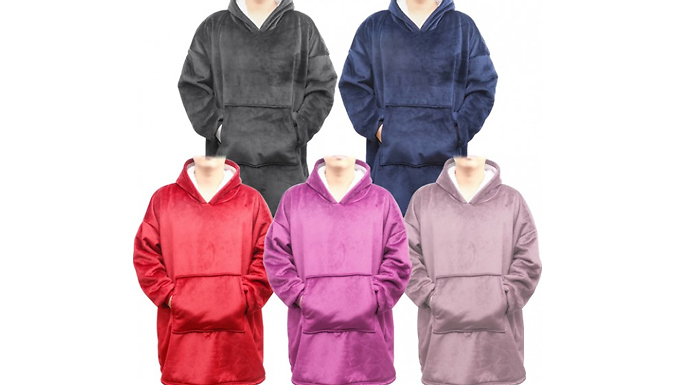 SnuggleSweater Hooded Blanket - 5 Colours