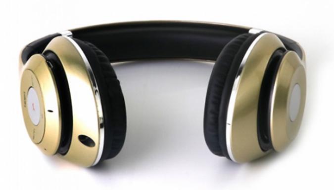 Wireless Bluetooth Stereo Headphones - 3 Colours