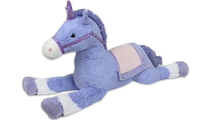 Extra-Large 130cm Unicorn Soft Toy - Free Delivery!