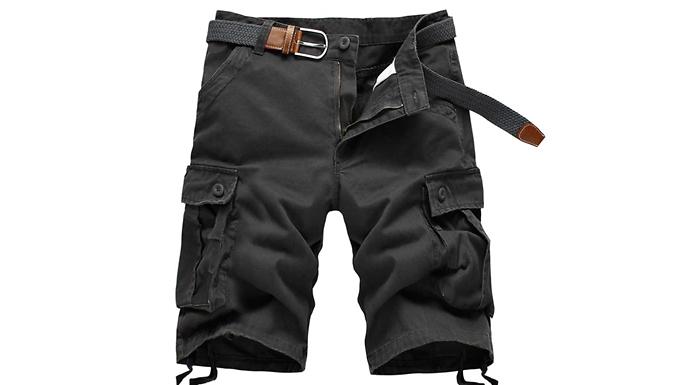 Men's Preston Cargo Shorts – 4 Colours (£14.99)