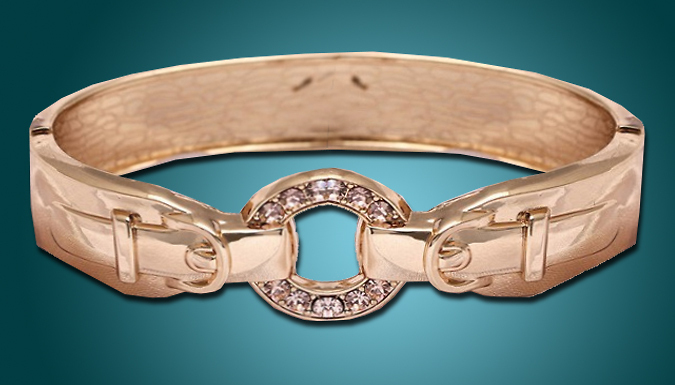 Crystal Buckle Bracelet