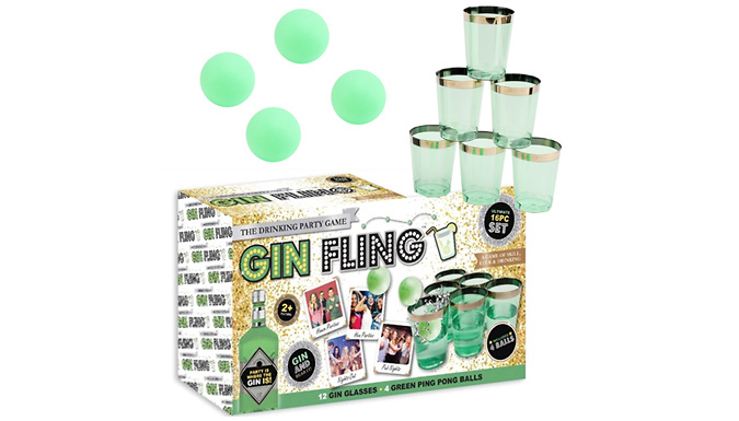 Compare retail prices of 'Gin Fling' Ping Pong Drinking Game to get the best deal online