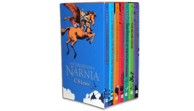 Cheapest price of 'Chronicles of Narnia' 7-Book Collection in new is £19.99