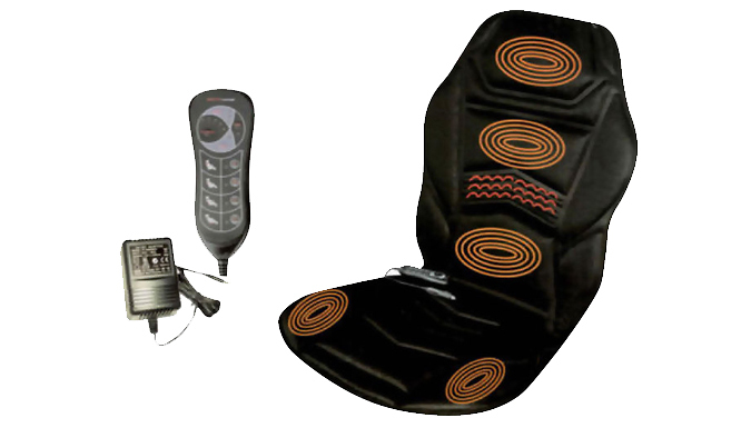 Heated Massage Cushion & Remote