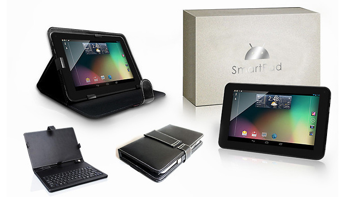 SmartPad Mini HD 7 inch Tablet with Keyboard Case