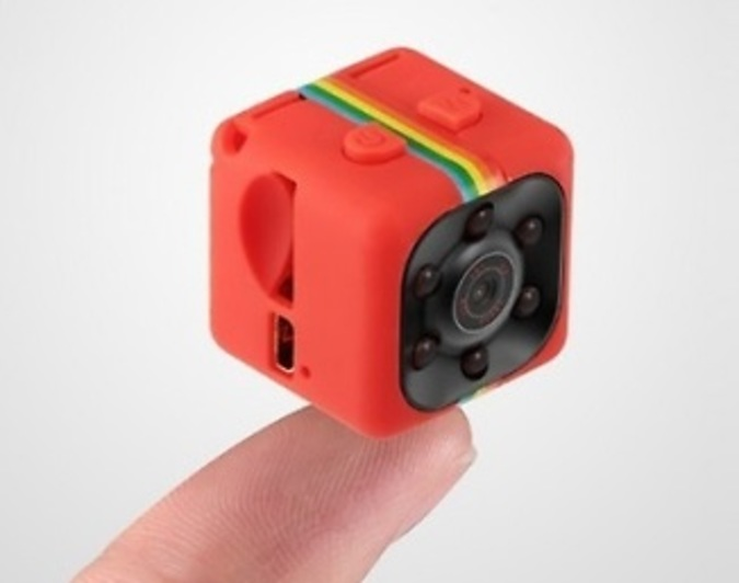 Mini Cube HD Camera - Black, Blue or Red