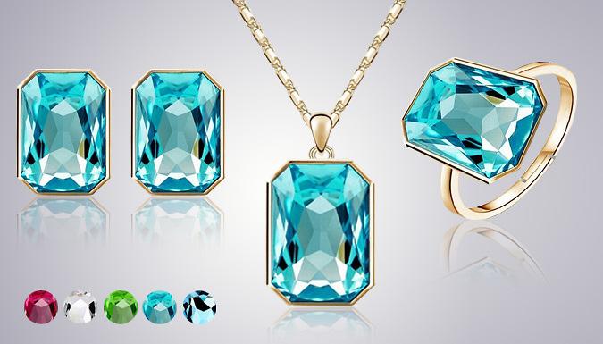 Regency Jewellery Set