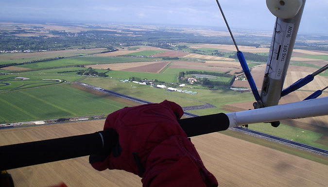 30-60 Minute Delta Microlight Trial Flight - Cambridgeshire