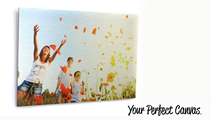 DDDeals - Personalised Aluminium Print; 4 sizes