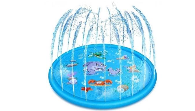 Inflatable Water Spray Garden Mat - 3 Sizes