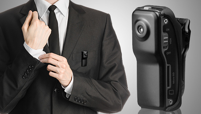 Mini Digital Video Camera  The Size of Your Thumb!