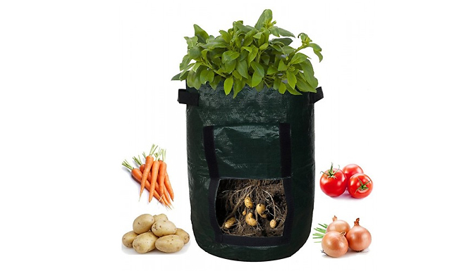 Grow-Your-Own Vegetable Planter Bag - 7 or 10 Gallon Bags!