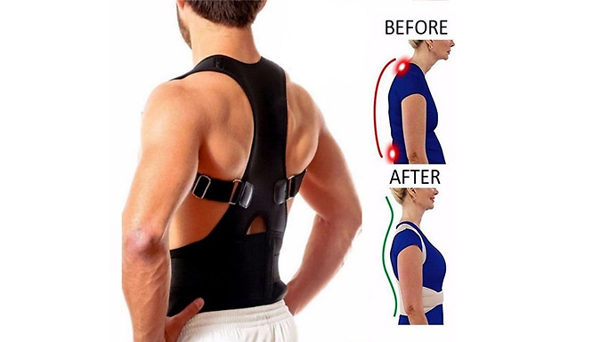 Magnetic-Therapy Posture Corrector - 4 Sizes