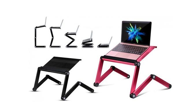Adjustable Folding Laptop Stand - 2 Colours