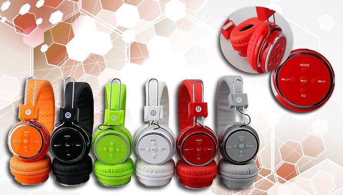 Foldable Bluetooth Headphones - 6 Colours