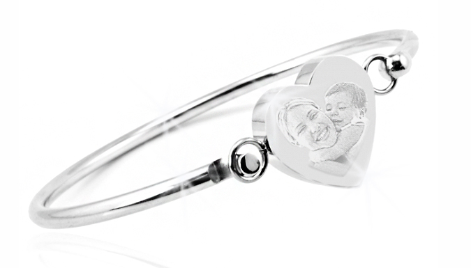 DDDeals - Personalised Heart Bangle