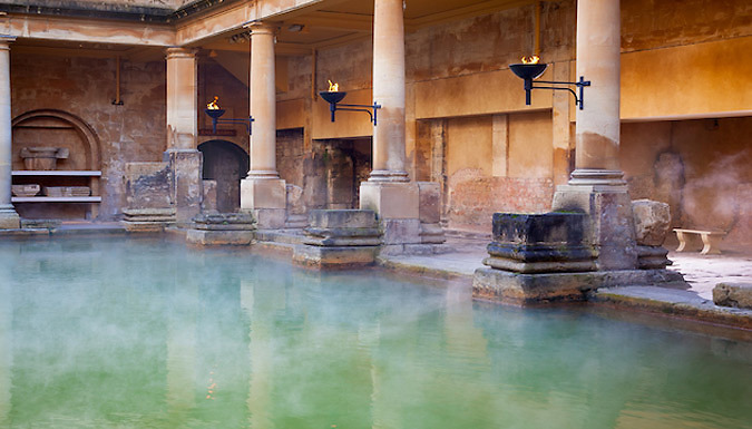 1-Night 4* Hotel Stay With Breakfast, Roman Baths Entry & £5 Amazon Gift Card from OMGhotels.com