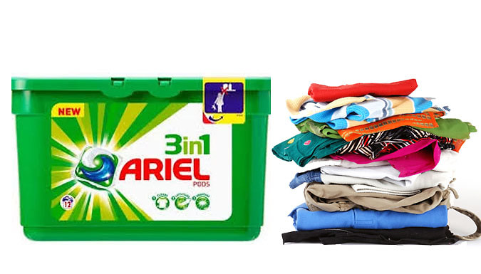 Ariel 3-in-1 Laundry Pods - 72 or 144 Pods!
