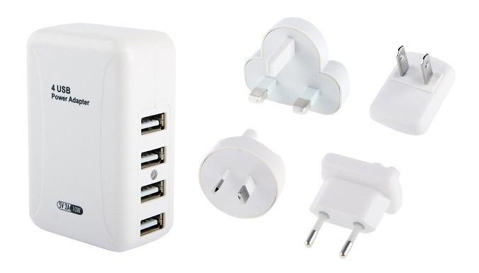 4 in 1 USB Universal Charging Plug