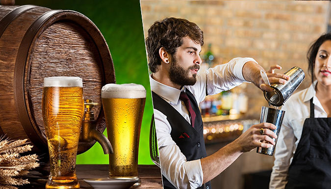 Beer Brewing and Bartending Courses
