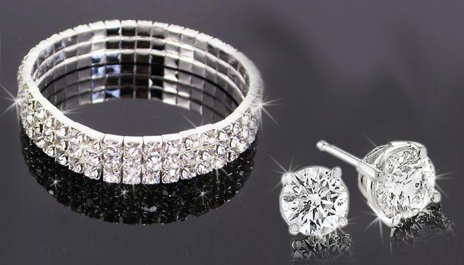 Crystal Bracelet Set