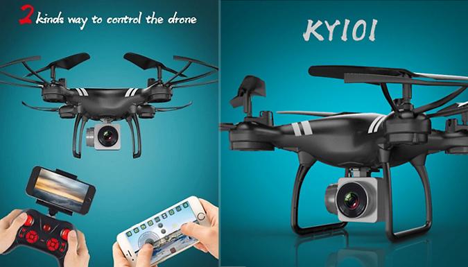 Wi-Fi FPV Drone - 3 Colours