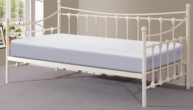 Compare retail prices of 'Memphis' Daybed and Trundle Set - Two Colours to get the best deal online