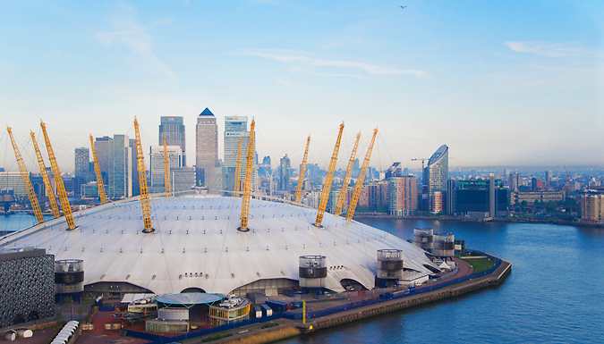 London, England: 1-2 Night 4* Hotel Stay with Up at The O2 Climb & River Cruise, Plus £5 Amazon Gift Card!