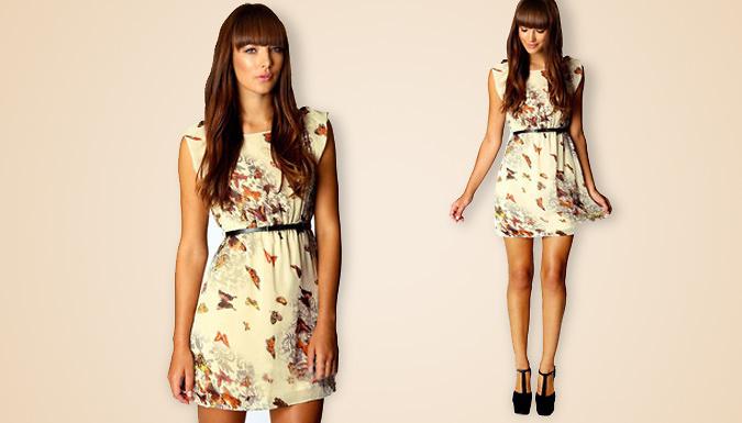 Chiffon Butterfly Dress