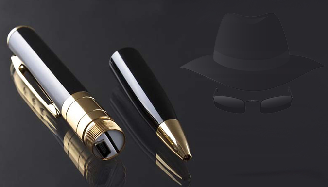 2 Mega Pixel Spy Camera Pen with Audio